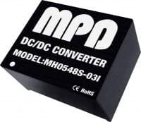 MH0503S-15(I) | DC/DC | Ein: 3,3 V DC | Aus: 15 V DC | MicroPower Direct