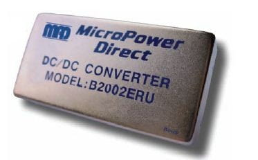 B2013ERU | DC/DC | Ein: 18-75 V DC | Aus: 12 V DC | MicroPower Direct