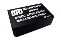 MA348SMRU-12RI4 | DC/DC|medizinisch | Ein: 18-80 V DC | Aus: 12 V DC | MicroPower Direct