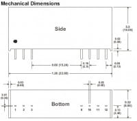 D102RPI | DC/DC | Ein: 5 V DC | Aus: 9 V DC | MicroPower Direct