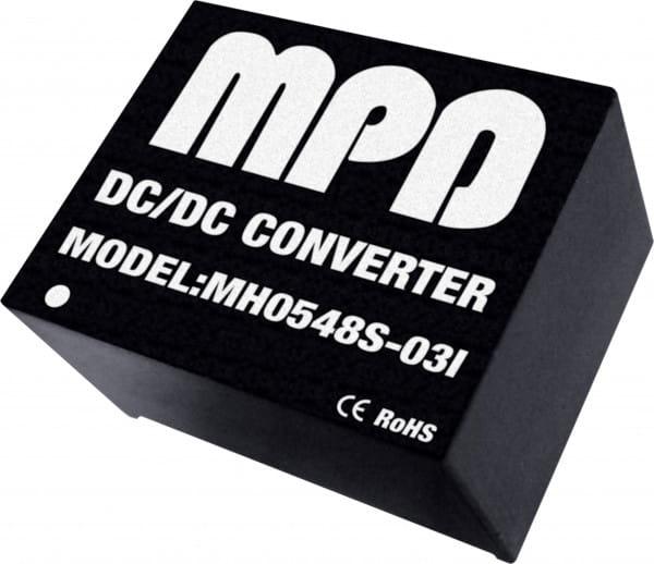 MH0515S-12(I) | DC/DC | Ein: 15 V DC | Aus: 12 V DC | MicroPower Direct