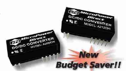 A204EHI | DC/DC | Ein: 5 V DC | Aus: 15 V DC | MicroPower Direct