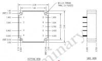24S48.4TH | DC/DC | Ein: 9-36 V DC | Aus: 48 V DC | Calex