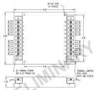 48S48.17RCM | DC/DC | Ein: 18-75 V DC | Aus: 48 V DC | Calex
