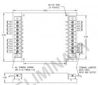 48S48.8FCM | DC/DC | Ein: 18-75 V DC | Aus: 48 V DC | Calex