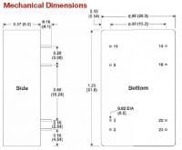 A634ERWI | DC/DC | Ein: 36-72 V DC | Aus: 24 V DC | MicroPower Direct