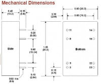 A1121RW | DC/DC | Ein: 36-72 V DC | Aus: 2,5 V DC | MicroPower Direct