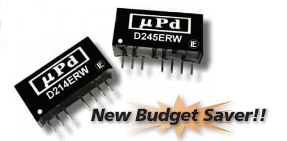D204ERW | DC/DC | Ein: 4,5-9 V DC | Aus: 12 V DC | MicroPower Direct