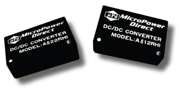 A521RHI | DC/DC | Ein: 36-75 V DC | Aus: 5 V DC | MicroPower Direct