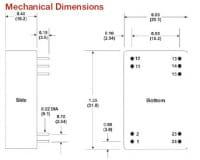 A122HI | DC/DC | Ein: 15 V DC | Aus: 12 V DC | MicroPower Direct