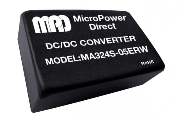 MA324S-03ERW   DC/DC   Ein: 18-36 V DC   Aus: 3,3 V DC   MicroPower Direct