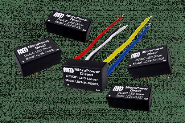 LD24-17-600 | DC/DC | Ein: 7-30 V DC | Aus: Konstantstrom V DC | MicroPower Direct