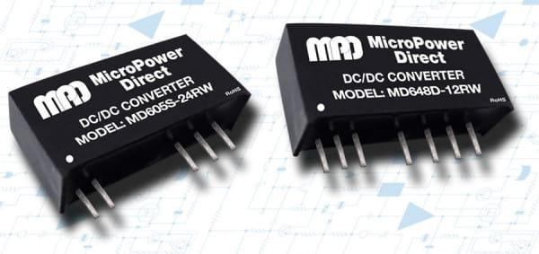 MD624S-12RW | DC/DC | Ein: 18-36 V DC | Aus: 12 V DC | MicroPower Direct
