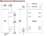 A821ERW | DC/DC | Ein: 18-36 V DC | Aus: 3,3 V DC | MicroPower Direct