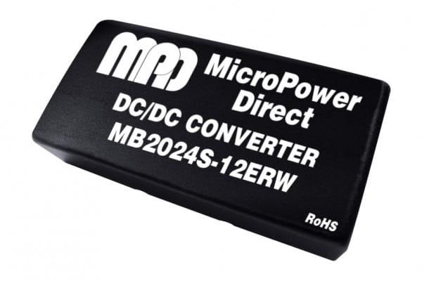 MB2024S-12ERW | DC/DC | Ein: 18-36 V DC | Aus: 12 V DC | MicroPower Direct
