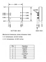 5S3.2000LV | DC/DC | Ein: 3,5-16 V DC | Aus: 3,33 V DC | Calex