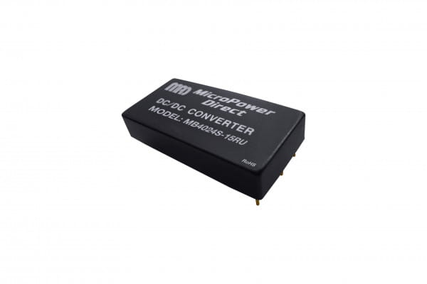MB4024S-12RU | DC/DC | Ein: 9-36 V DC | Aus: 12 V DC | MicroPower Direct