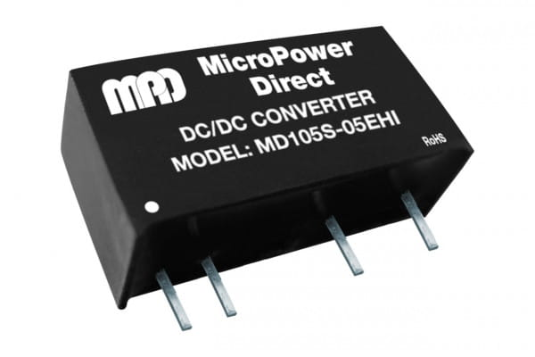 MD124S-12EHI | DC/DC | Ein: 24 V DC | Aus: 12 V DC | MicroPower Direct
