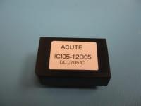 ICI05-48D05R | DC/DC | Ein: 36-72 V DC | Aus: -5 V DC|5 V DC | Acute Power (International Coil Inc)