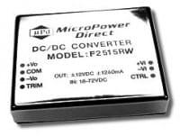 F2501RW | DC/DC | Ein: 9-18 V DC | Aus: 3,3 V DC | MicroPower Direct