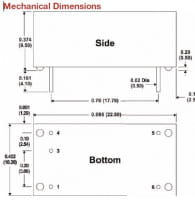 LD24E-17-700   DC/DC   Ein: 5,5-36 V DC   Aus: Konstantstrom V DC   MicroPower Direct