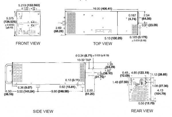 HSP 15-66 | AC/DC | Aus: 15 V DC | Kepco