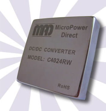 C4023RW | DC/DC | Ein: 36-75 V DC | Aus: 15 V DC | MicroPower Direct