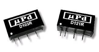 D124R | DC/DC | Ein: 24 V DC | Aus: 12 V DC | MicroPower Direct