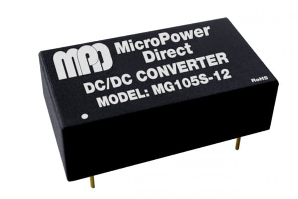 MG103S-18xx   DC/DC   Ein: 3,3 V DC   Aus: 18 V DC   MicroPower Direct