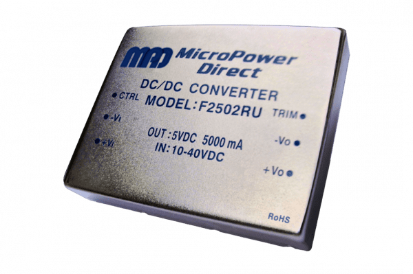 F2514RU | DC/DC | Ein: 18-75 V DC | Aus: 15 V DC | MicroPower Direct