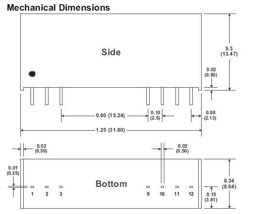 D101RP | DC/DC | Ein: 5 V DC | Aus: 5 V DC | MicroPower Direct