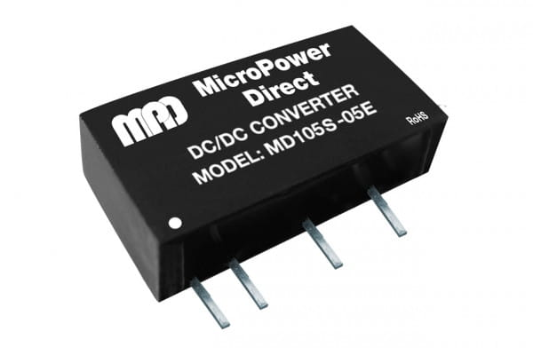 MD105S-12E | DC/DC | Ein: 5 V DC | Aus: 12 V DC | MicroPower Direct