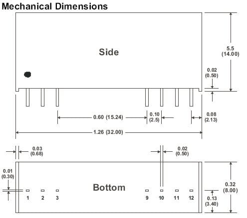 D112RPI | DC/DC | Ein: 12 V DC | Aus: 9 V DC | MicroPower Direct