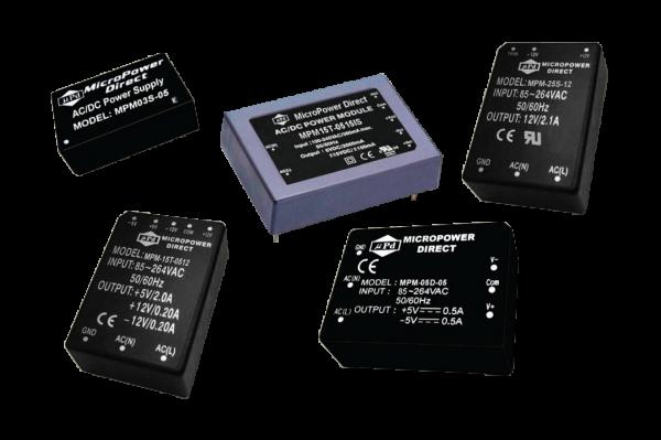 MPM-08D-1205PB | AC/DC | Aus: 12 V DC|5 V DC | MicroPower Direct