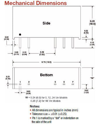 D125I | DC/DC | Ein: 24 V DC | Aus: 15 V DC | MicroPower Direct