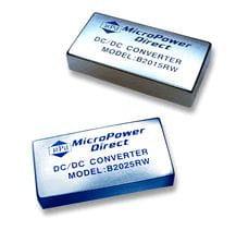 B2004RW | DC/DC | Ein: 9-18 V DC | Aus: 15 V DC | MicroPower Direct
