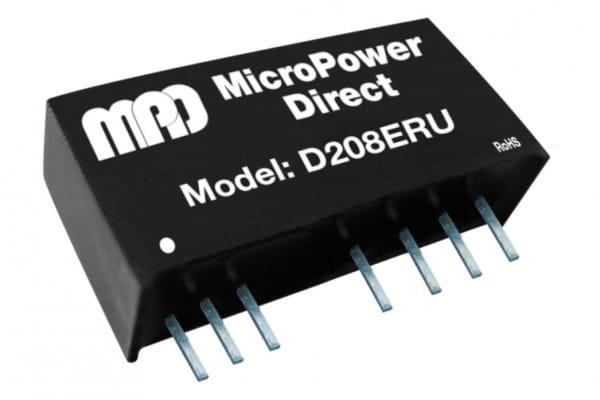 D204ERU | DC/DC | Ein: 9-36 V DC | Aus: 12 V DC | MicroPower Direct