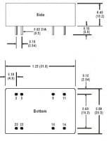 A322RW | DC/DC | Ein: 18-36 V DC | Aus: 5 V DC | MicroPower Direct
