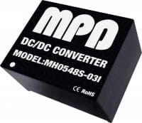 MH0512S-12(I) | DC/DC | Ein: 12 V DC | Aus: 12 V DC | MicroPower Direct