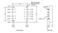 48S24.6HEW | DC/DC | Ein: 18-75 V DC | Aus: 24 V DC | Calex