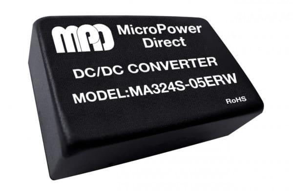 MA324S-24ERW | DC/DC | Ein: 18-36 V DC | Aus: 24 V DC | MicroPower Direct