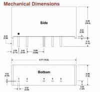 D221E | DC/DC | Ein: 24 V DC | Aus: 5 V DC | MicroPower Direct