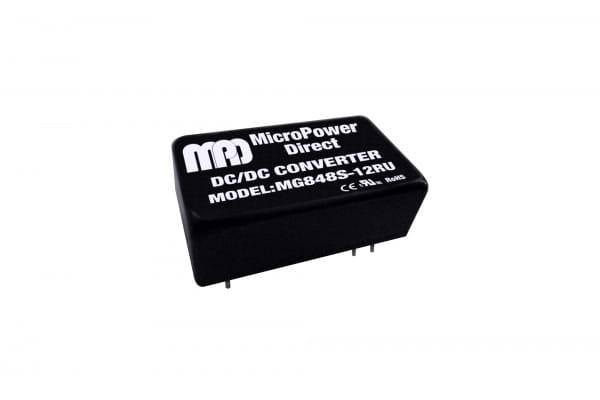 MG848S-05RU   DC/DC   Ein: 18-75 V DC   Aus: 5 V DC   MicroPower Direct