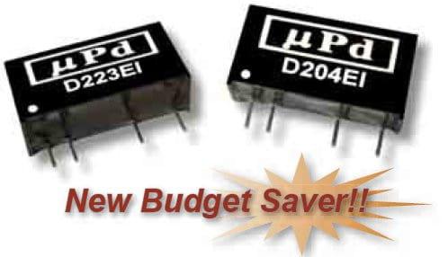 D211EI   DC/DC   Ein: 12 V DC   Aus: 5 V DC   MicroPower Direct