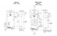 MAX-353-0512 | AC/DC | Aus: 5 V DC|12 V DC|-12 V DC | Condor (SL Power)