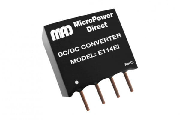 E123EI | DC/DC | Ein: 24 V DC | Aus: 12 V DC | MicroPower Direct