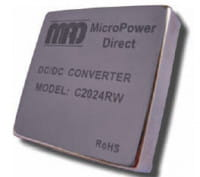 C2025RW | DC/DC | Ein: 36-75 V DC | Aus: 24 V DC | MicroPower Direct
