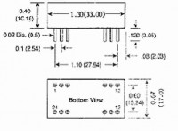 MBR1.8-12D15R | DC/DC | Ein: 5 V DC | Aus: 15 V DC|-15 V DC | Acute Power (International Coil Inc)