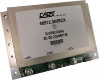 48S12.3K0BCA | DC/DC | Ein: 7-18 V DC | Aus: 24-58 V DC | Calex