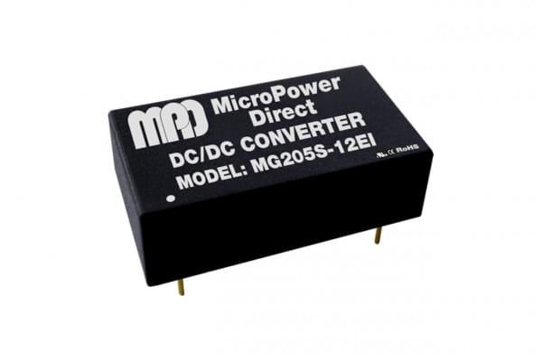 MG205S-24EI | DC/DC | Ein: 5 V DC | Aus: 24 V DC | MicroPower Direct
